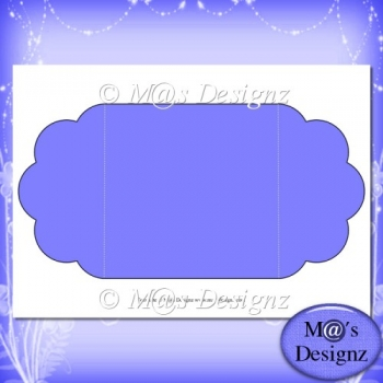 Square Gatefold Template 2