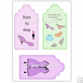 Girly Vintage Gift Tags