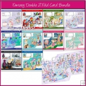 Fantasy Z Fold Card Bundle