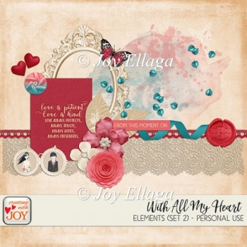 With All My Heart - Element Pack (Set 2)