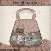 Handbag Card Brown