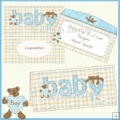 BABY WORD DL CARD