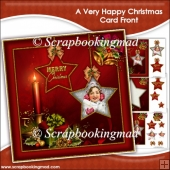A Very Happy Christmas Card Front
