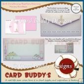 Girl Christening/ Baptism/ Naming Money Envelope Kit