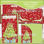 Crazy 4 Christmas Money Card & Envelope