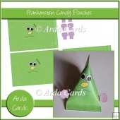 Frankenstein Candy Pouches