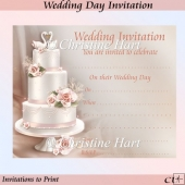 Wedding Day Invitations