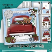 Santa's Truck Christmas Mini Kit