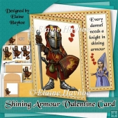Knight in Shining Armour Valentine Card Kit