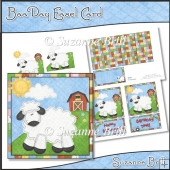 Baa Day Easel Card