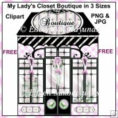 FREE My Lady's Closet Boutique Clipart FREE