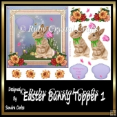 Easter Bunny Topper 1