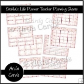 Ooohlala Life Planner Teacher Planning Sheets