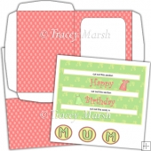 C5 Happy Birthday Mum Triple Penny Slider Card Set