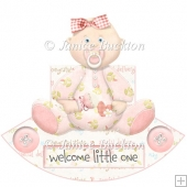 Cute Baby Girl Rocker