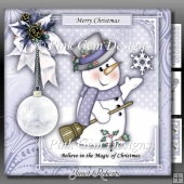 Magical Snowman Lilac Mini Kit