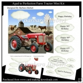 Aged to Perfection Farm Tractor Mini Kit