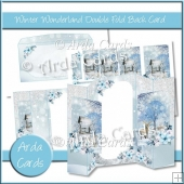 Winter Wonderland Double Fold Back Card