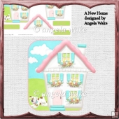 A New Home over the edge card