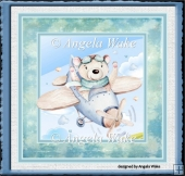 Teddy bear flyer 7x7 card