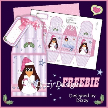 Christmas Freebie Gift Box