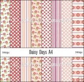 Daisy Days A4 Backing Papers