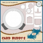 Plate Card Template Set
