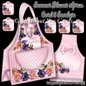 Summer Blooms Apron Card & Envelope