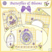 Butterflies & Blooms Gatefold Card