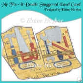Mr Fix-It Double Staggered Easel Card