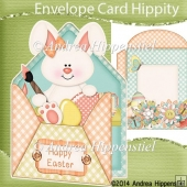 Peek a Boo Envelope Card Easter