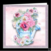 Anemone Posy Mini Kit with Envelope and Insert