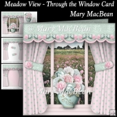 Meadow View - Through the Window Card