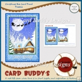 Christmas Eve Card Front Freebie
