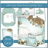 Caffe Latte Wrap Around Gatefold Card