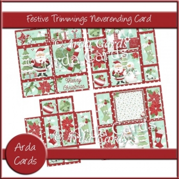 Festive Trimmings Neverending Card