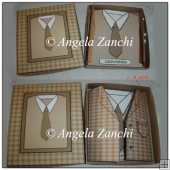 Jacket and Shirt Card With Display Box