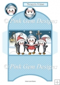 Penguin Carols Christmas Money Wallet