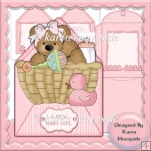 Baby Envelope Card 1