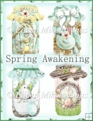 Spring Awakening Mason Jar Embellishments for Tags, Cards, Craft
