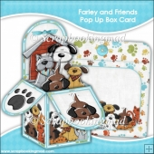 Farley and Friends Pop Up Box Card