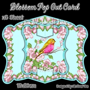 Blossom Pop Out Card & Envelope Set