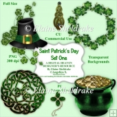 Saint Patricks Day - Set One - CU Designer Resource For CU/PU