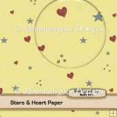 Stars & Hearts Paper