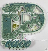 MandalaPeace Card TF0300, SVG, CAMEO, CRICUT, ScanNCut