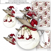 Christmas Artist Decoupage Set