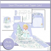 Snow Princess Easel Topper Card