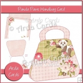 Panda Paws Handbag Card