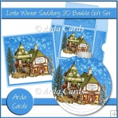 Little Winter Saddlery 3D Bauble Gift Set