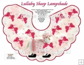 Lullabye Sheep Lampshade with Crafting Directions